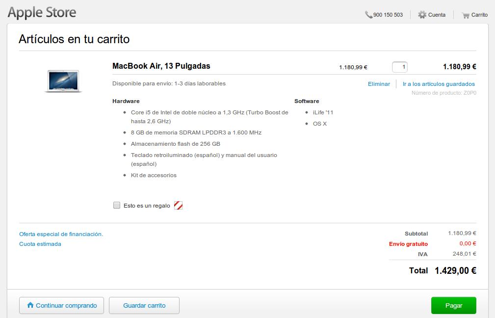 Configuración Macbook Air para un Desarrollador / Programador